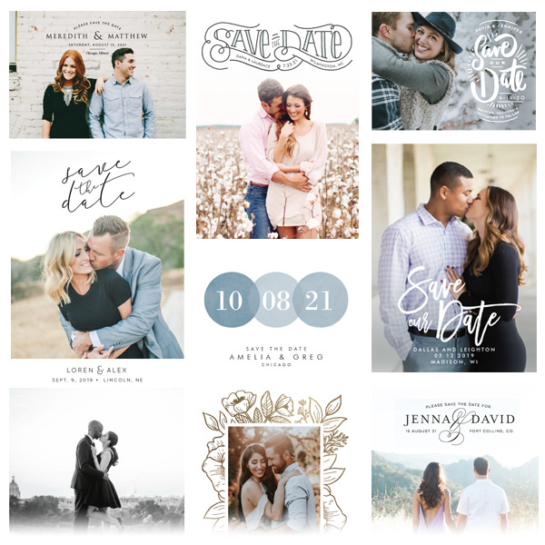 Browse Thousands of Save the Dates