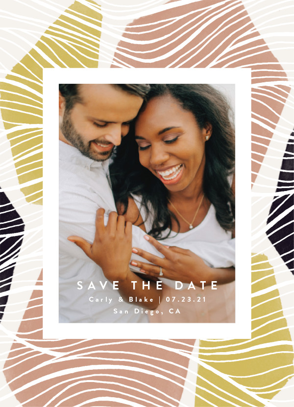 'Tropical (Sunrise)' Save the Dates