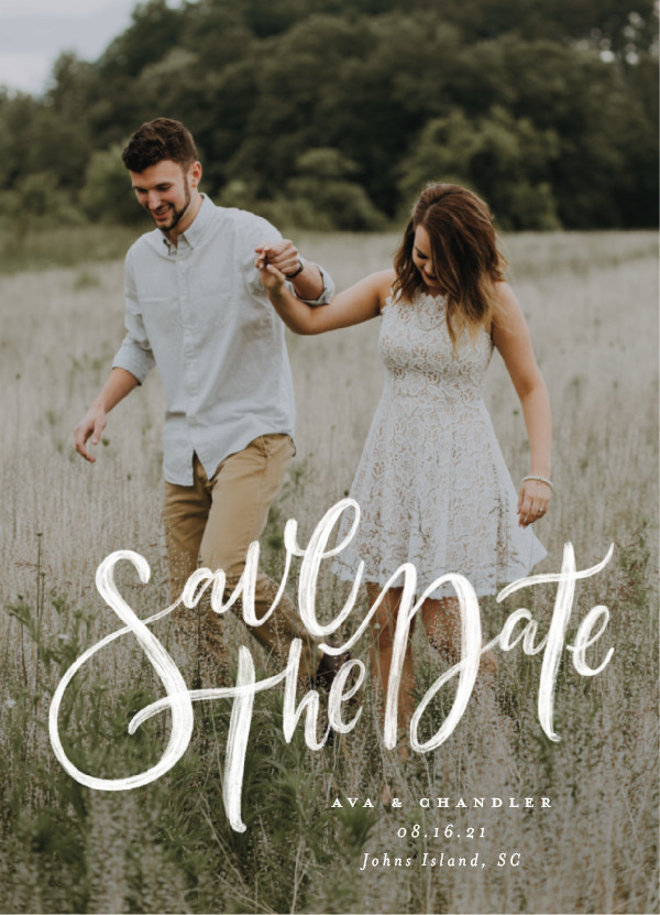 'Summertime Love (Cloud)' Boho Save the Dates