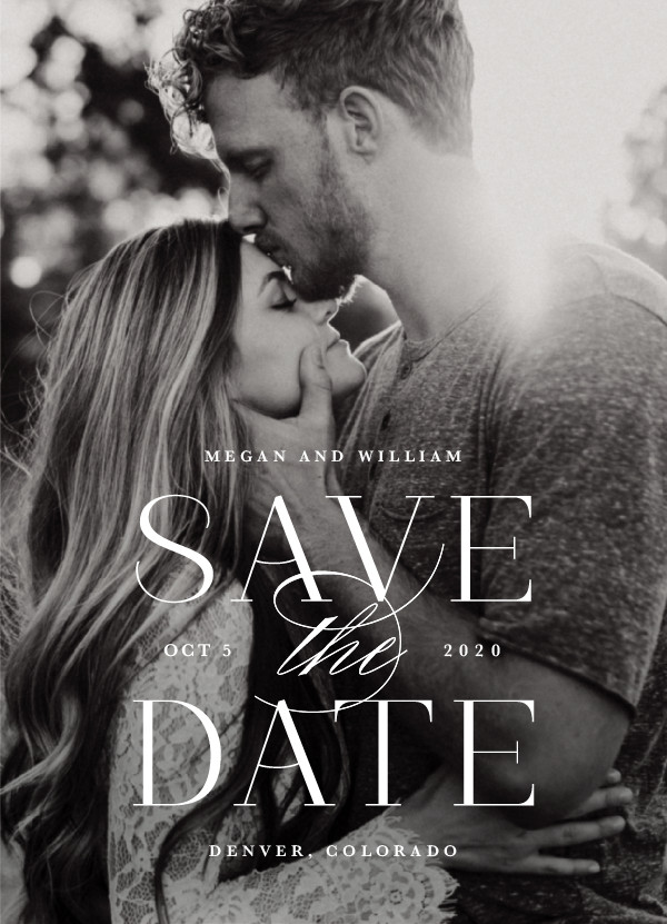 'Ultimate (Cotton)' Save the Dates