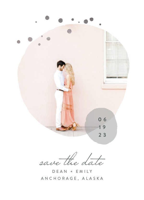 ' (Ash)' Wedding Save the Date