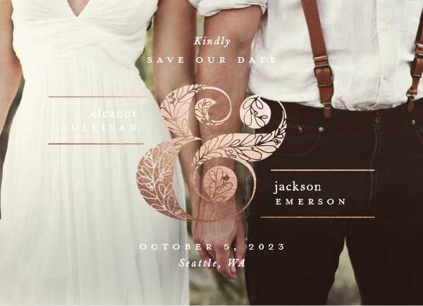 ' (Buttermilk)' Save-the-Dates