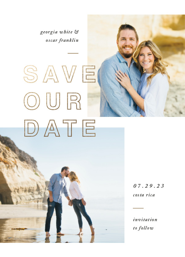 ' (Sandstone)' Save-the-Dates